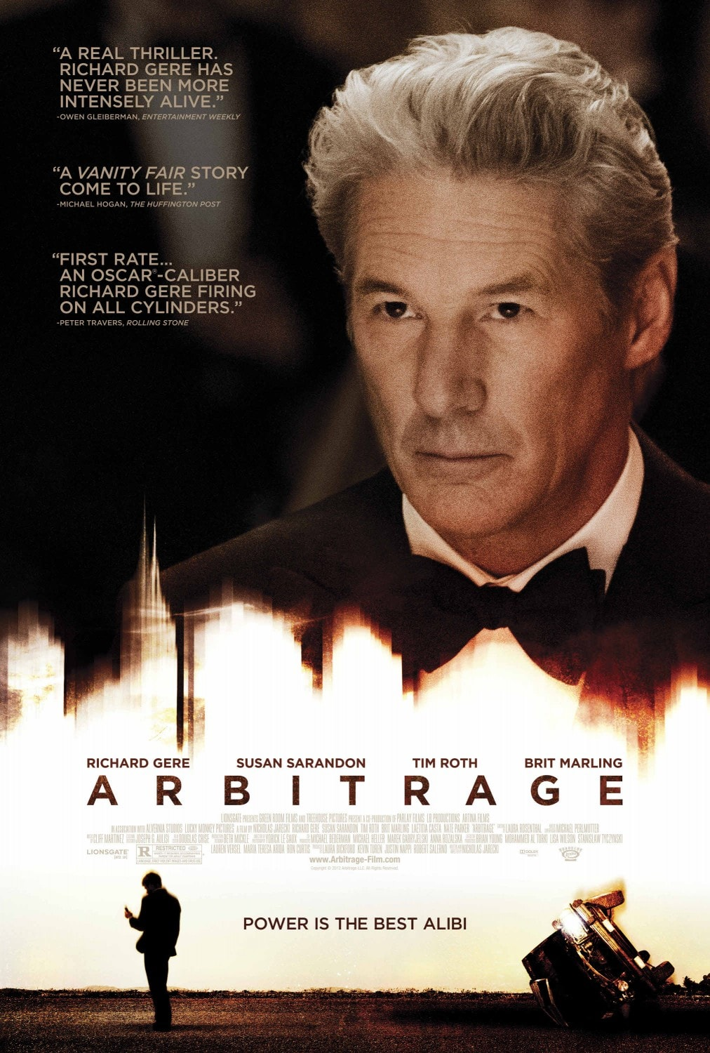 Arbitrage Indie Film Review